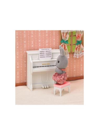 Sylvanian Sylvanian Families Tavşan Kardeş ve Piyano Seti Renkli